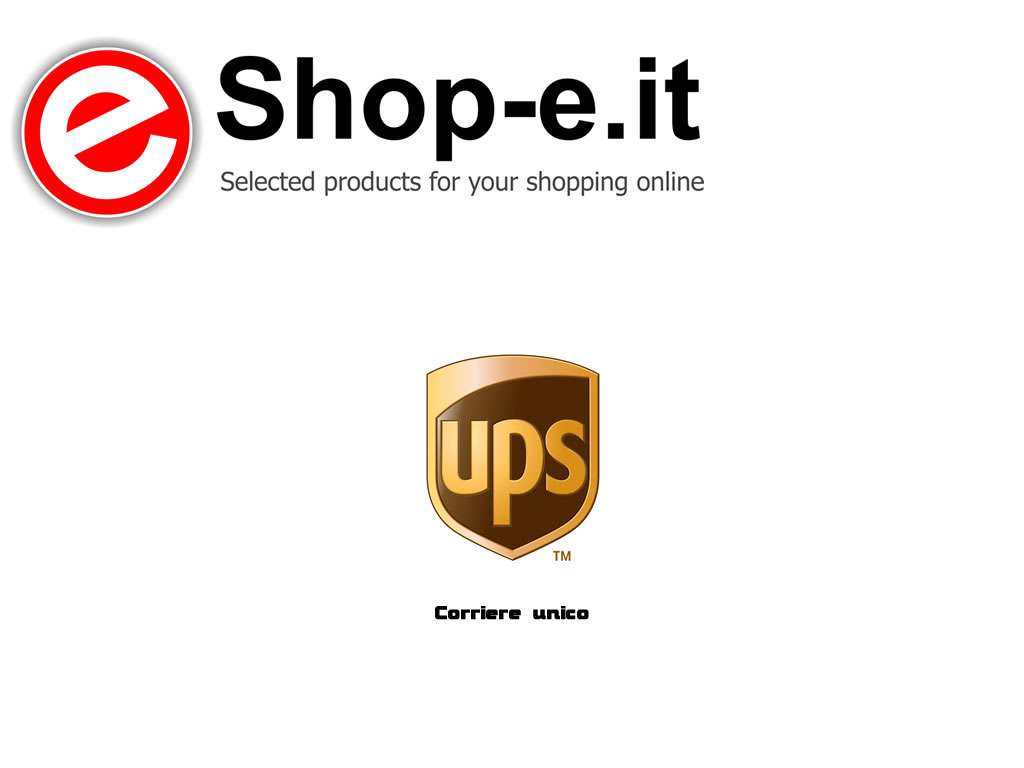 Ups corriere unico di Shop-e.it